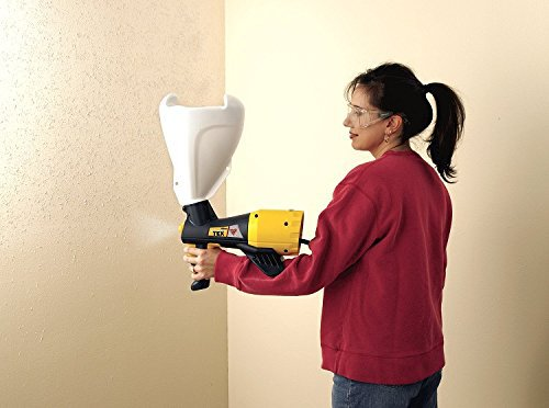 Lady using a Wagner Texture Sprayer