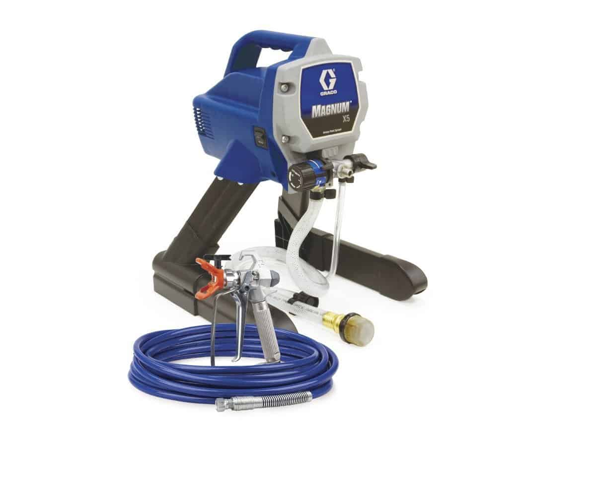 Graco's magnum x5, the best airless paint sprayer