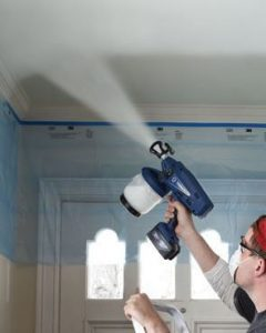 Cordless Paint Sprayers are becoming more popular for home use.