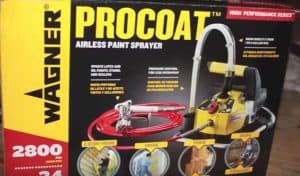 Wagner Procoat airless paint sprayer reviews