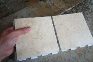 ceramic tile pieces