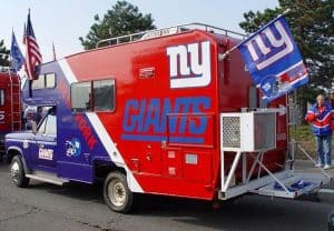 Giants tailgating