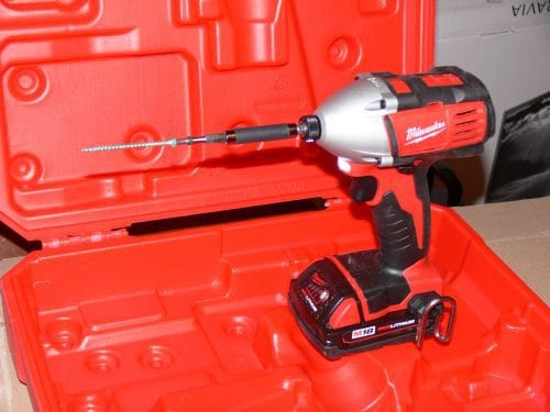 impact driver from Milwaukee